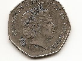 Guernsey 50 pence 2003 #