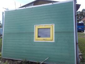 Nauji pramoninio šaldytuvo vartai