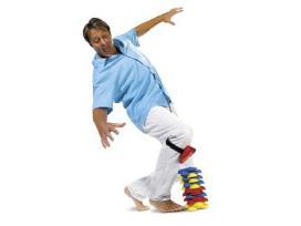 Flex žaidimas - naudojam koja
