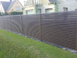Žaliuzinės tvoros, tvoralentės