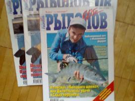 Zurnalai <Rybolov Elite> ir lietuviski apie zukle