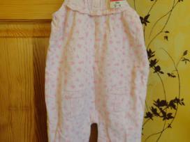 Rožinės kelnytės mergaitei, 12-18 mėn.