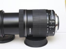 Canon Ef ir Efs sistemos objektyvai