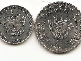 Burundis 1 ir 5 frankai
