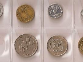 Izraelio 7 monetų rinkinukas