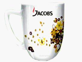 Puodeliai Jacobs+ trafaretas+knygele pigiai