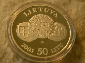 Moneta Lietuvos nacionaliniam muziejui 150 metų