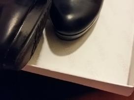 Ilgaauliai naturalios odos batai 35 dydis