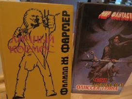 Detektyvai, fantastika, bestseleriai -rusu kalba