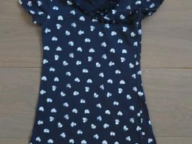 Suknelė vasarai trumpomis rankovėmis 2-3 m.