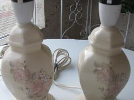 Porcelianiniai pastatomi šviestuvai