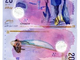Maldyvai 20 Rufiyaa 2016m. Unc