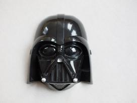 Žmogaus voro kostiumas+plastmasinė žybsinti kaukė