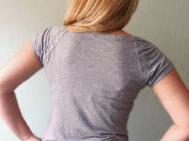 Moteriški pilki marškinėliai M/ldydis