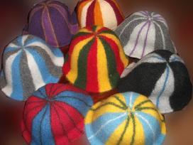 Beretės , pirties kepurės , skrybelė , pašikniukai