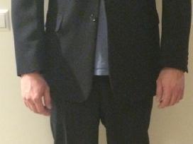 Vyriškas kostiumas juodas