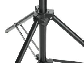 Teleskopinė Fono Tvirtinimo Sistema su Baltu Fonu