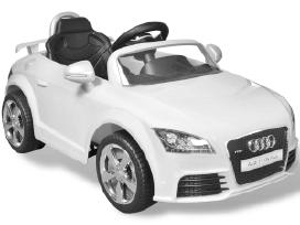 Audi Tt Rs Vaikiškas Automobilis, vidaxl