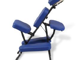 Sulankstoma ir Nešiojama Masažo Kėdė, vidaxl