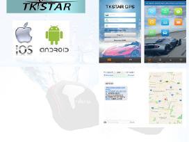 Tkstar GPS tracker (vietos koordinaciu nustatymas)