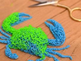Plastikinis 3D tušinukas gebantis piešti ore