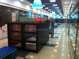 Gaminame parduotuvių ir kirpyklų baldus