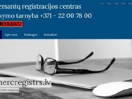 Įmonių steigimas Latvijos Respublikoje.