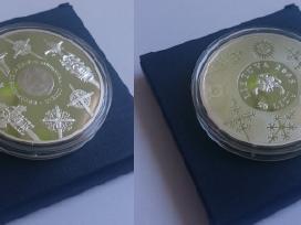 2008 metų 50 litų moneta Kryždirbystė Kryžiai