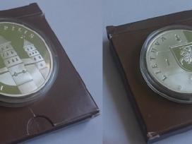 2007 50 litų moneta, skirta Panemunės piliai