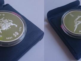 2007 50 litų moneta Pekinas