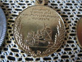 4 vnt .Zenkliukai - medaliukai CCP.id: 26318277