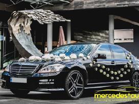 Prabangių Mercedes Benz S klasės Long nuoma