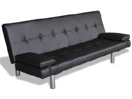 Sofa-lova su 2 Pagalvėmis, Reguliuojama, vidaxl
