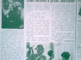Sovietinis sienlaikrastis <Tiesietis> 1970 m.