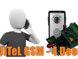 Namams ir kotedžams modulis Ditel Gsm - 4 Door