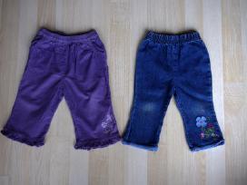 Velvetinės kelnės ir džinsai 9 mėn. 74cm