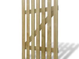 Mediniai Sodo Varteliai 100 x 150 cm, vidaxl