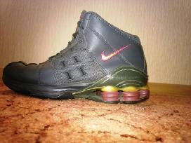 Nike shox 38,5 pilki bateliai