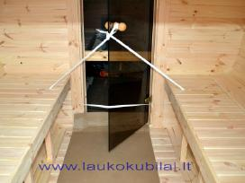 Medinė apvali pirtis - sauna 4,8m ilgio