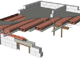 Perdangų įrengimas betonavimas