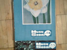 <Musu sodai>1966,1967,1968m. ir 1976m. komplektai