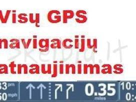Atnaujinu, taisau GPS navigacijas Kaune