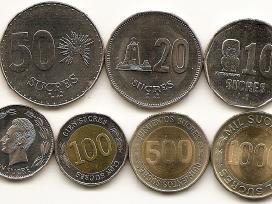 Ekvadoro monetu rinkinukas