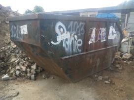 Statybiniųgriovimo atliekųšiukšlių išvežimas