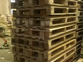 Mediniai padeklai paletes 1200x800mm
