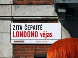 """Romanas """"Londono vėjas"""" Z.čepaitė."""