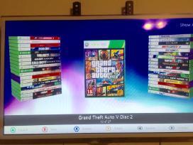 Xbox 360 500/250gb Rgh atristas/60 žaidimu