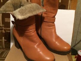 Žieminiai batai su kailiu