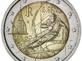 Italija 2 euro monetos Unc