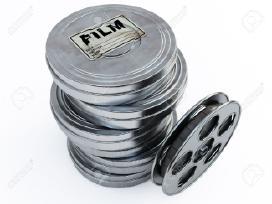 8-16mm kino filmai.